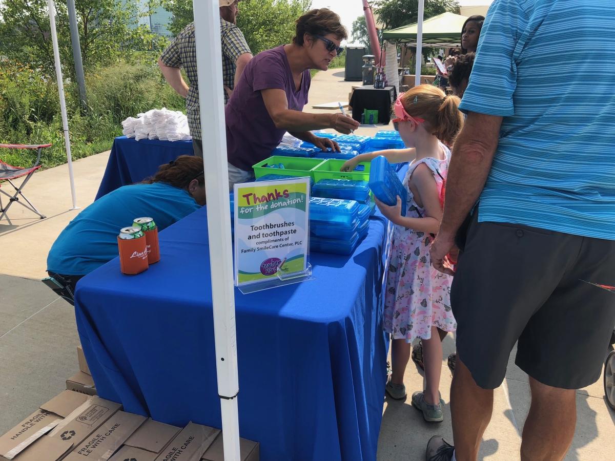 Cedar Rapids Back to School Bash at McGrath Amphitheater August 2018