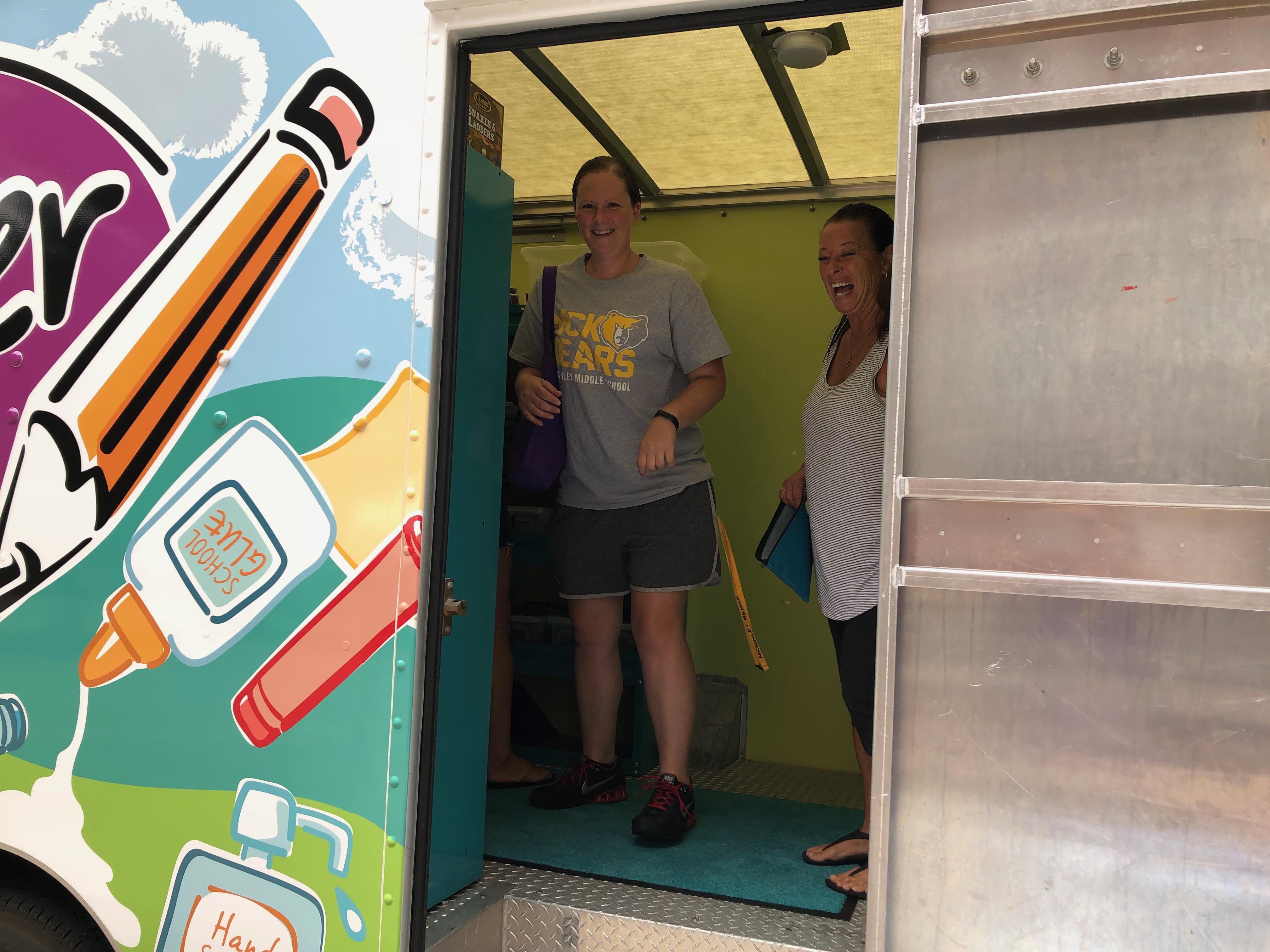 The Teacher Store Visits Prairie Creek Elementary